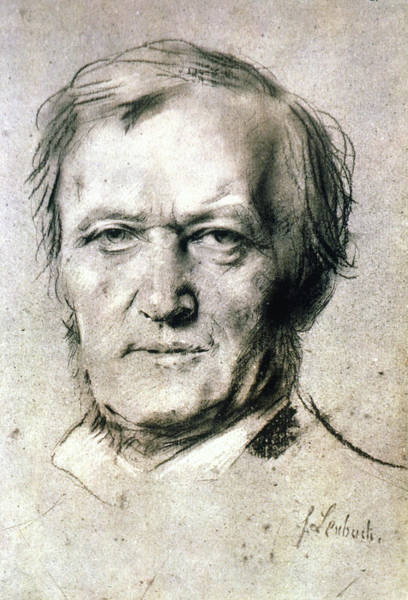 1880 Drawing - Richard Wagner (1813-1883) by Granger