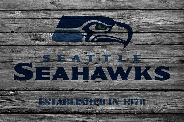 Iphone Case Photograph - Seattle Seahawks by Joe Hamilton