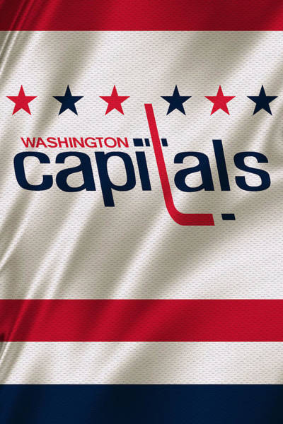 Sweater Wall Art - Photograph - Washington Capitals by Joe Hamilton