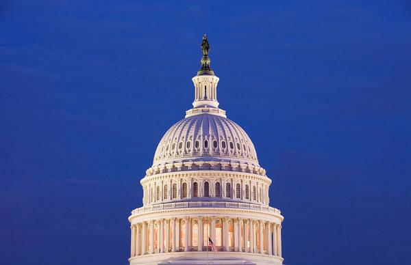 Legislature Photograph - Washington Dc, Usa by Lee Foster