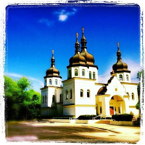 Religious Wall Art - Photograph - Ukranian Orthodox Church by Heidi Hermes