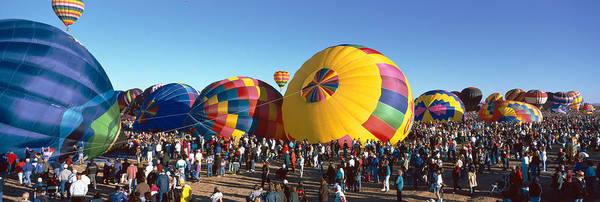 Fiesta Photograph - 25th Albuquerque International Balloon by Panoramic Images