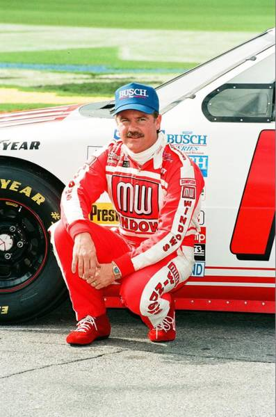 Busch Photograph - Terry Labonte by Retro Images Archive