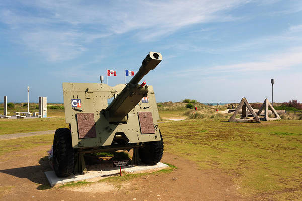 Atlantic Canada Wall Art - Photograph - France, Normandy, D-day Beaches Area by Walter Bibikow