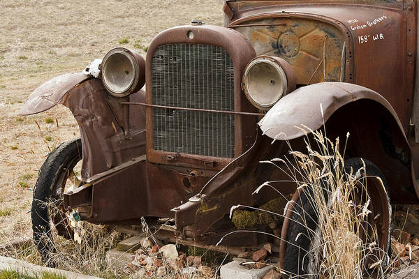 Wrecking Yard Photograph - 26 Graham Bros Auto by Wes and Dotty Weber