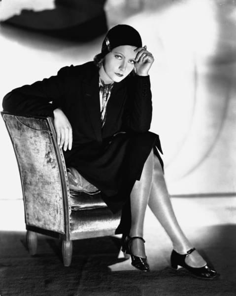 Glamorous Photograph - Greta Garbo by Silver Screen
