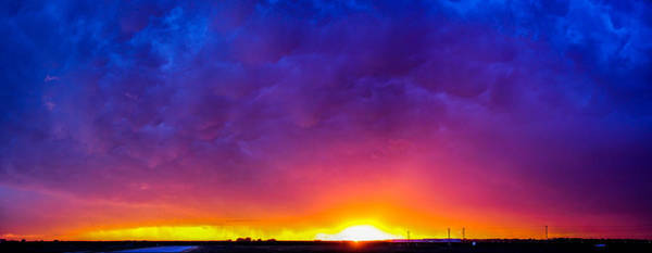 Photograph - Incredible Nebraska Thunderset by NebraskaSC