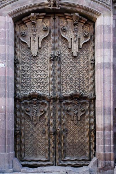 Carving Photograph - Mexico, San Miguel De Allende by Jaynes Gallery