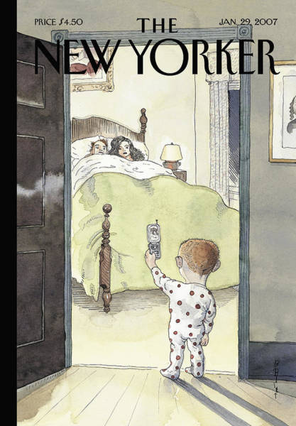 New Yorker January 29th, 2007 Art Print by Barry Blitt