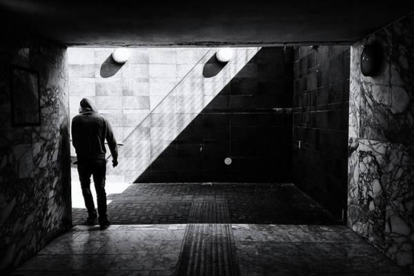 Tunnel Photograph - Untitled by Massimo Della Latta