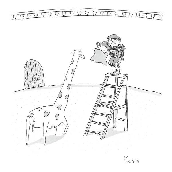 Matador Wall Art - Drawing - New Yorker June 11th, 2007 by Zachary Kanin