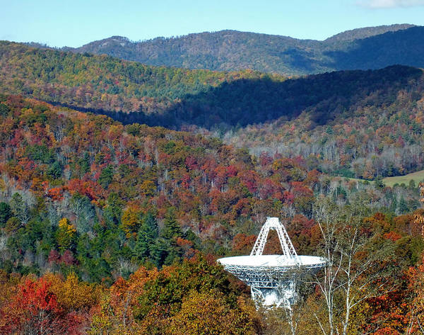 Photograph - 26 West Antenna And The Blueridge by Duane McCullough