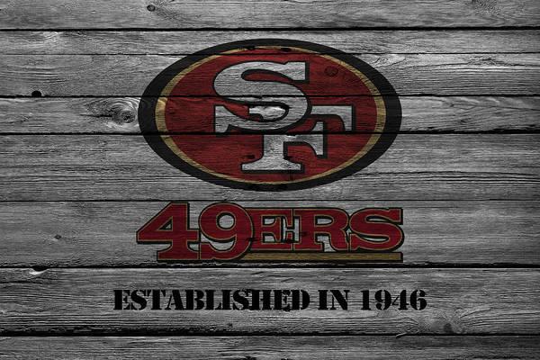 Wall Art - Photograph - San Francisco 49ers by Joe Hamilton
