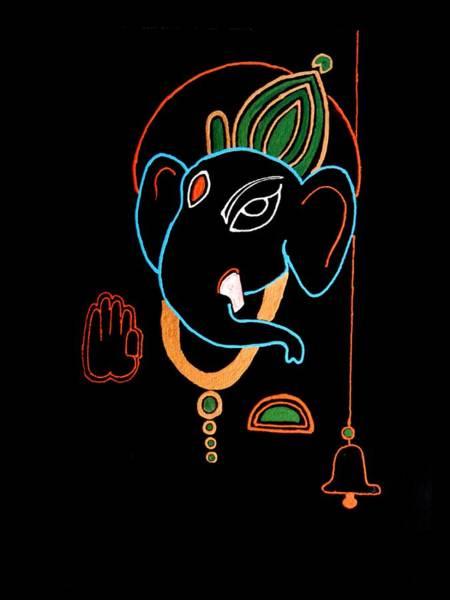 Ganesh Chaturthi Painting - 29 Varaganapati by Kruti Shah