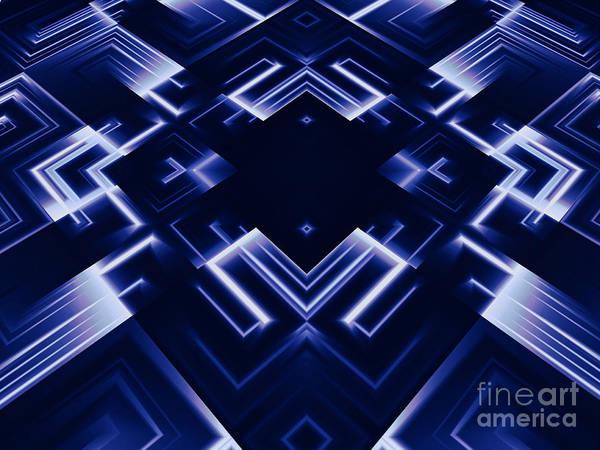 Aspect Digital Art - Abstract  by Dan Radi