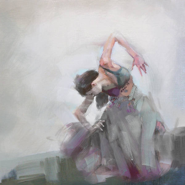 Belly Dance Painting - Belly Dancer 2 by Corporate Art Task Force
