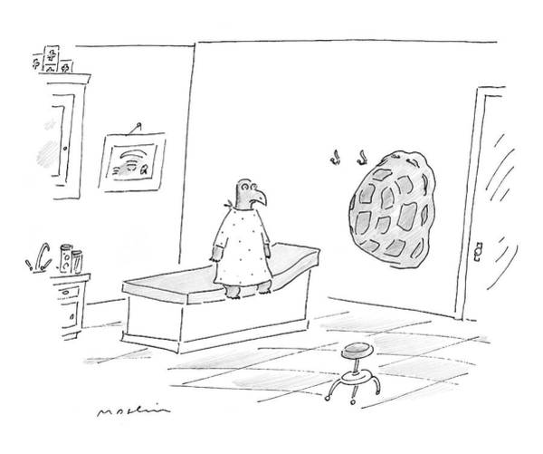 Doctors Office Wall Art - Drawing - New Yorker September 11th, 2006 by Michael Maslin