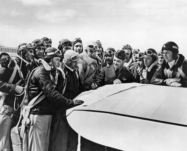 Ww Ii Photograph - Navy Pilots Training by Underwood Archives