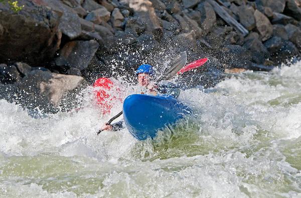 David Weber Photograph - Kayaker by Elijah Weber