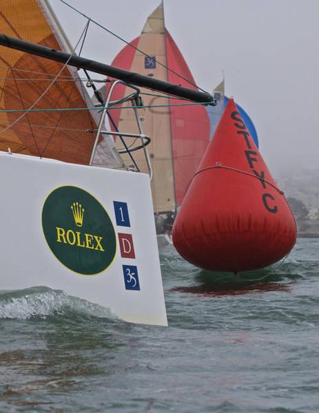Photograph - Rolex Big Boat Series by Steven Lapkin