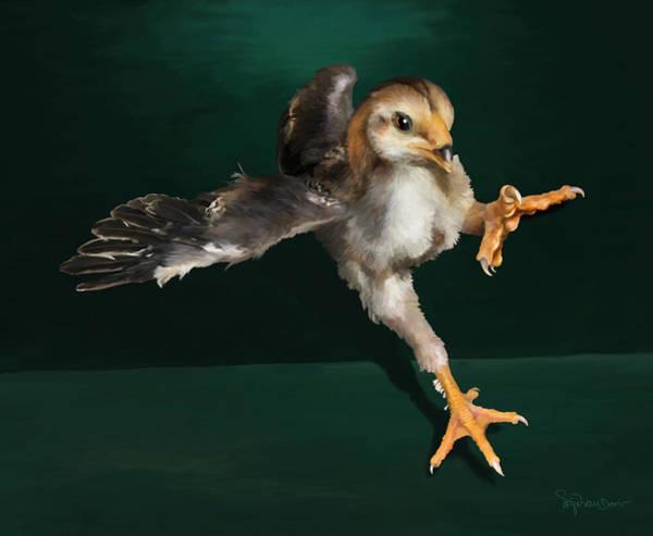 Digital Art - 29. Yamato Chick by Sigrid Van Dort