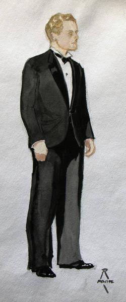 Gatsby Study 1 Art Print