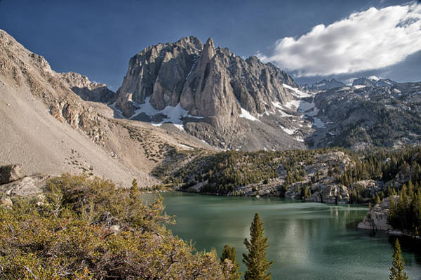 Sierra Nevada Photograph - 2nd Lake And Temple Crag by Cat Connor