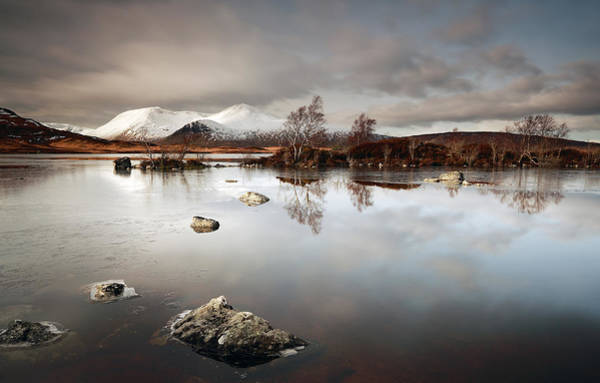 Photograph -  Lochan Na H-achlaise by Grant Glendinning