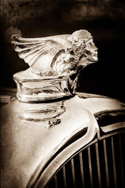 Photograph - 1927 Buick Goddess Hood Ornament by Jill Reger