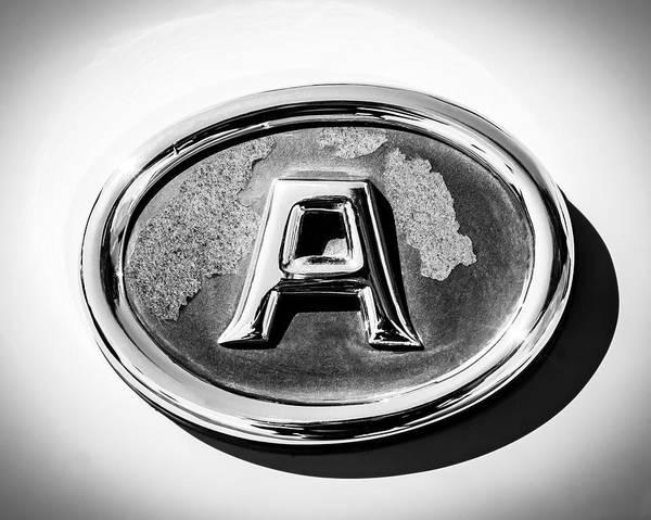 Photograph - 1938 Fiat 508c Berlinetta Speciale Emblem by Jill Reger