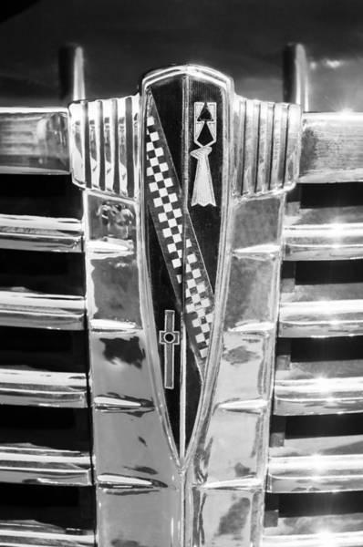 Photograph - 1941 Buick Eight Special Emblem by Jill Reger