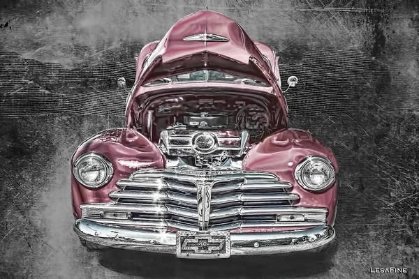Mixed Media - 1948 Chevy 2100 Fk Fleetmaster by Lesa Fine