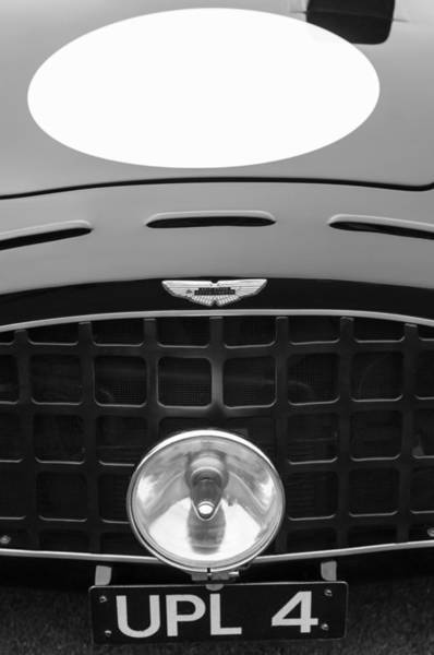 Photograph - 1952 Aston Martin Db3 Sports Hood Emblem by Jill Reger