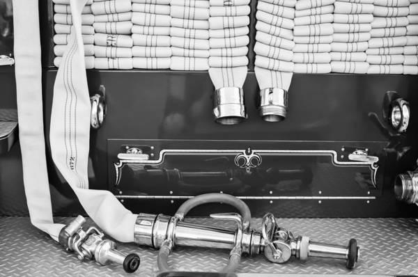 Firetruck Photograph - 1952 L Model Mack Pumper Fire Truck by Jill Reger