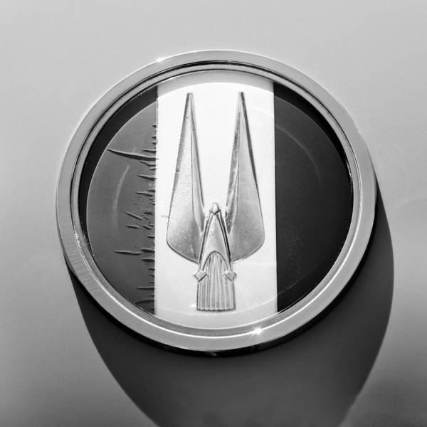 Photograph - 1952 Studebaker Emblem by Jill Reger