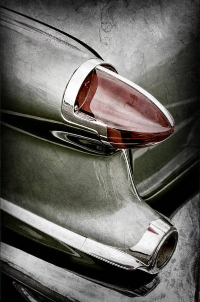Oldsmobile Wall Art - Photograph - 1956 Oldsmobile 98 Taillight by Jill Reger