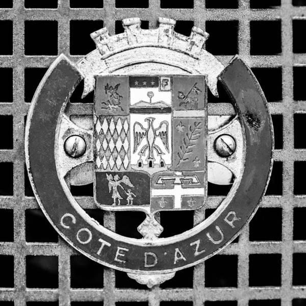 Photograph - 1957 Aston Martin Mk IIi Prototype Emblem by Jill Reger
