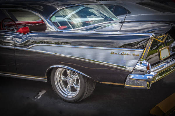 Dual Exhaust Photograph - 1957 Chevrolet Bel Air by Rich Franco