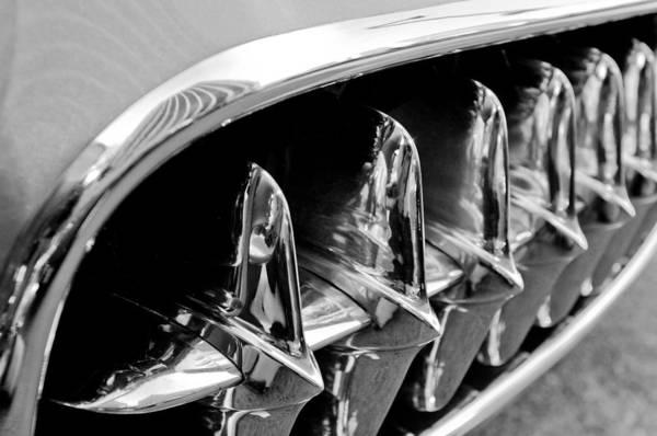 Photograph - 1957 Chevrolet Corvette Grille by Jill Reger