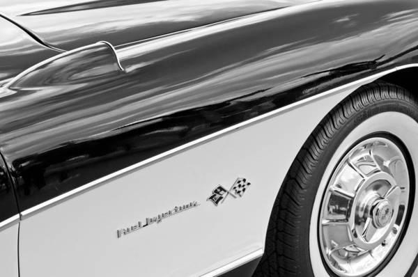Photograph - 1957 Chevrolet Corvette Wheel by Jill Reger