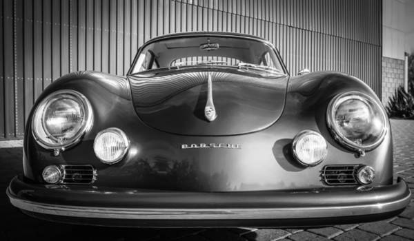 Photograph - 1957 Porsche 1600 Super by Jill Reger