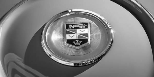 Photograph - 1960 Chrysler Imperial Crown Convertible Emblem by Jill Reger