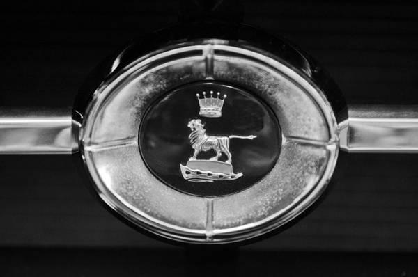 Photograph - 1965 Sunbeam Tiger Grille Emblem by Jill Reger