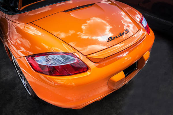 2008 Porsche Limited Edition Orange Boxster  Art Print