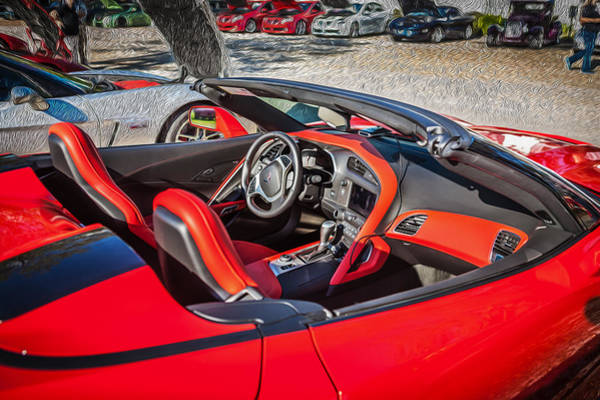 455 Photograph - 2014 Chevrolet Corvette C7 Convertible by Rich Franco