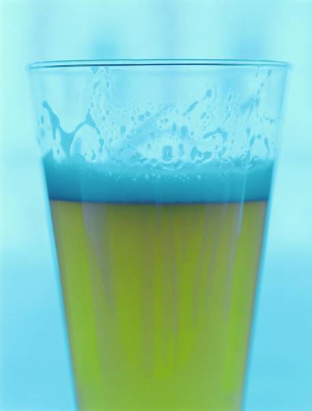 Alcohol Photograph - A Glass Of Beer by Romulo Yanes