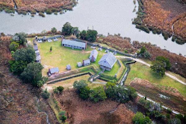 Jekyll Island Photograph - Aerial Near Jekyll Island by Betsy Knapp