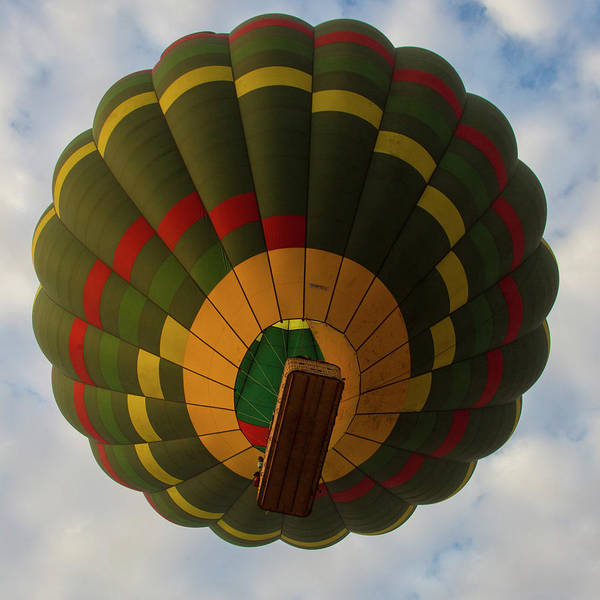 Wall Art - Photograph - Africa Tanzania Hot Air Balloon by Ralph H. Bendjebar