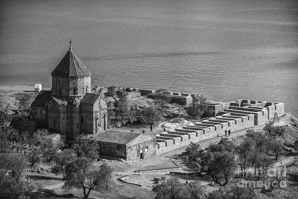 Eastern Anatolia Photograph - Akdamar Island by Emirali  KOKAL