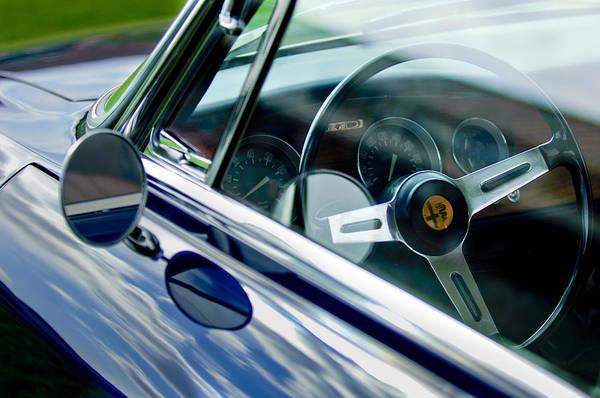 Photograph - Alfa Romeo Steering Wheel by Jill Reger